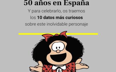 Mafalda, 50 años en España