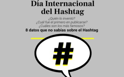 23 de agosto, Día Internacional del Hashtag y ocho datos curiosos sobre su historia