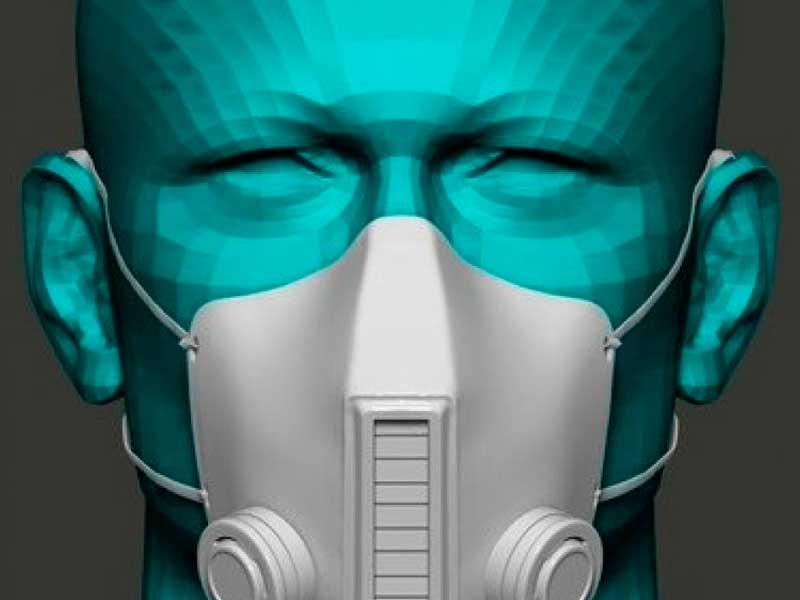 La mascarilla fabricada en España que elimina el virus con rayos UV-C mientras se respira