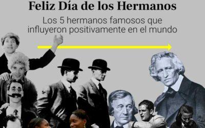 Hermanos famosos que influyeron positivamente en el mundo