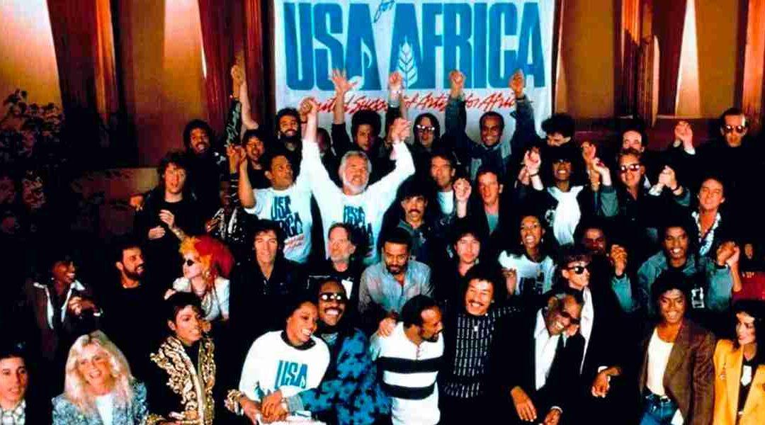 La famosa canción 'We Are the World' cumple 36 años