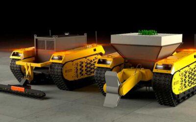 Estos dos robots forestales podrían plantar miles de árboles al día