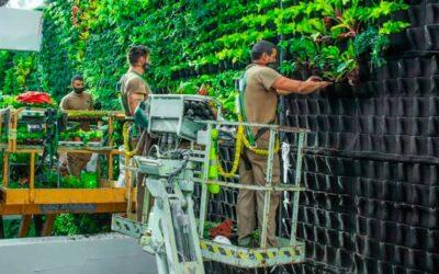 Antigua fábrica española se convertirá en el mayor jardín vertical europeo