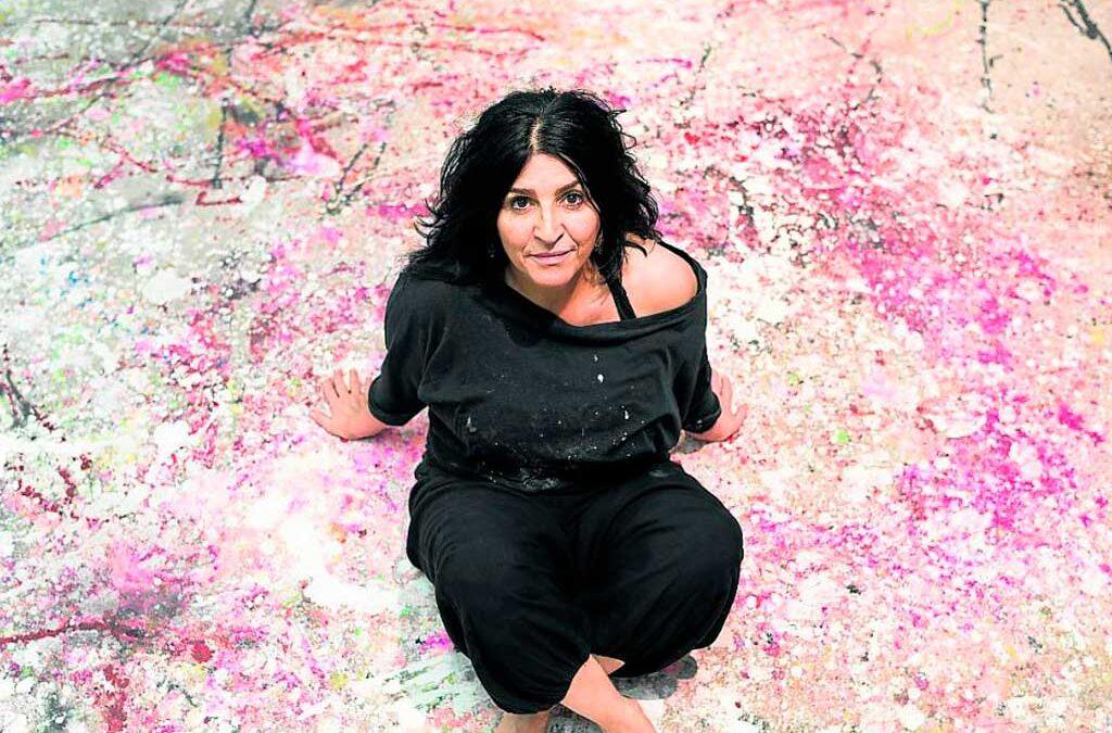 La historia de Lita Cabellut, una de las artistas más cotizadas del mundo