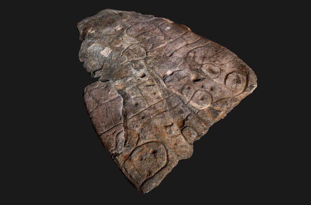 El mapa más antiguo de Europa está grabado en piedra y tiene 3.500 años