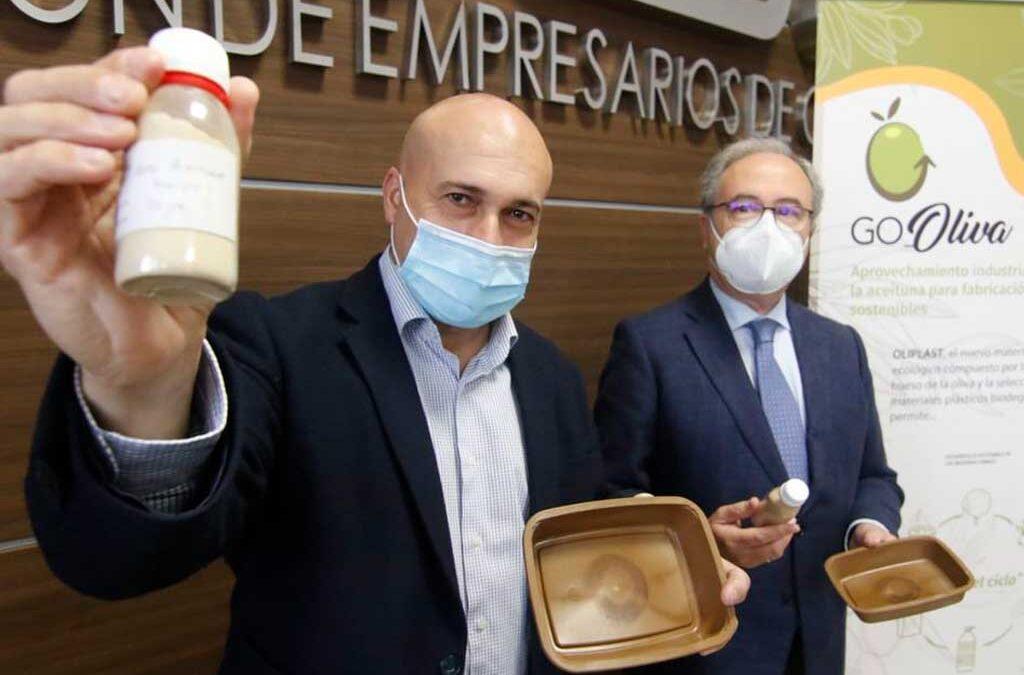 Oliplast, el nuevo bioplástico obtenido del hueso de aceituna es español
