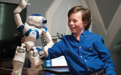 Con 12 años y startup propia, este niño prodigio se graduará de la preparatoria y universidad en la misma semana