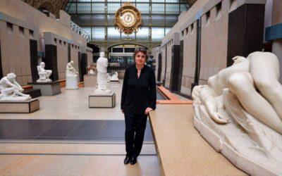 Laurence des Cars se convierte en la primera mujer en dirigir el Louvre