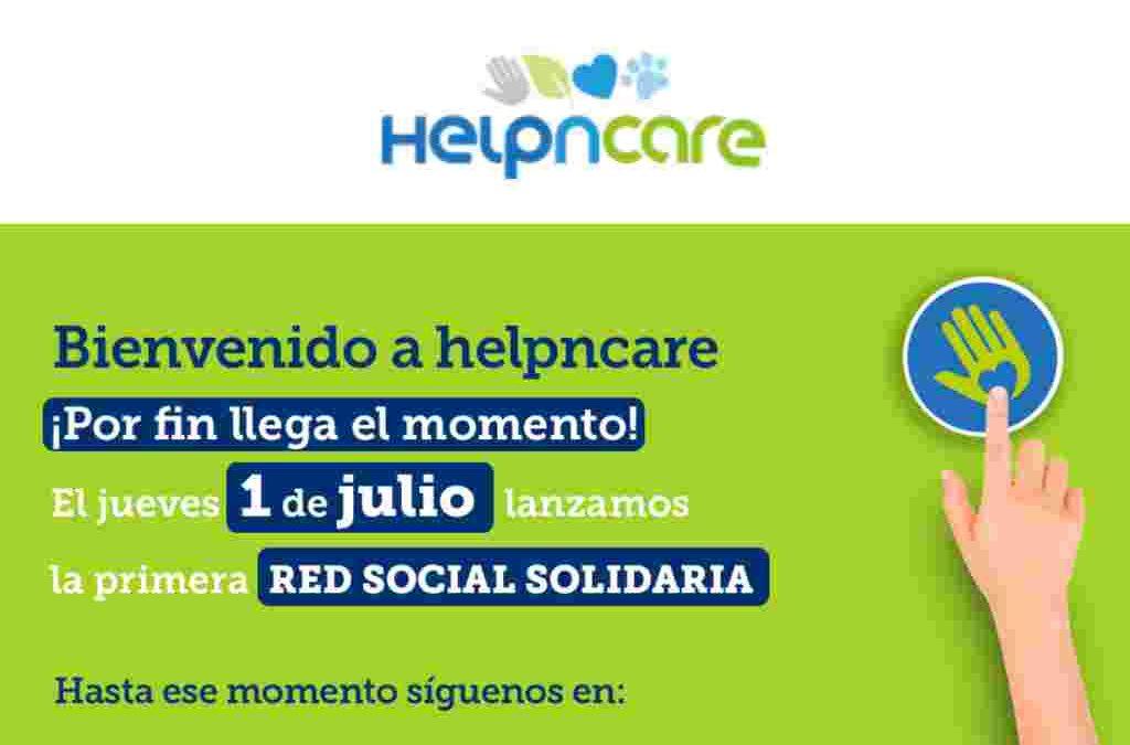 Nace Helpncare, la primera red social solidaria