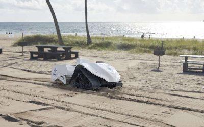 Os presentamos a BeBot, el robot que limpia las playas
