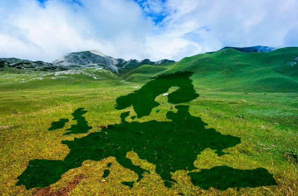 Europa, primer continente verde del planeta